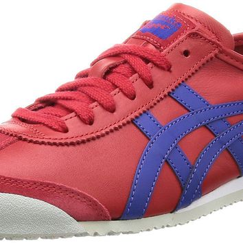 Onitsuka Tiger ASICS Sneakers MEXICO 66 TH4J2L Red Blue US8(26cm)