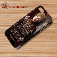 tryion lannister quote game of Thrones custom case for all phone case