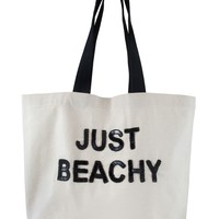 Beach Tote Bag - Just Beachy