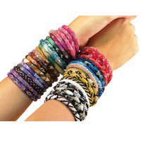 Lily and Laura Glass Beaded Bracelets