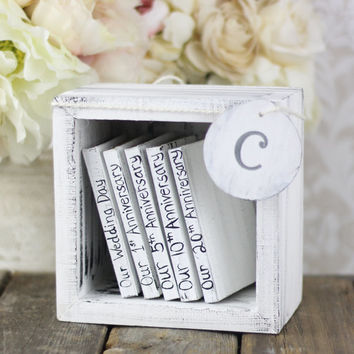 Wedding Guest Book Shabby Chic Wedding (item S10504)