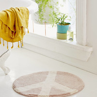 Peace Sign Bath Mat | Urban Outfitters