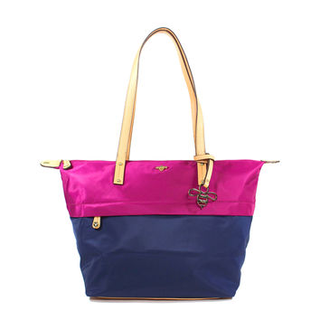 BECCA Tote - Berry/ Midnight