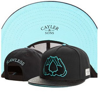 Cayler & Sons Flawless Mickey Mouse Jay Z HOV Hands Black Hip Hop Baseball Cap Snapback Hat