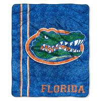 Florida Gators NCAA Sherpa Throw (Jersey Series) (50in x 60in)