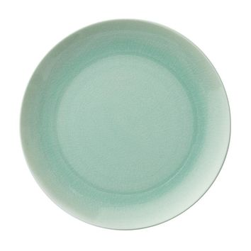 DINNER PLATE IN CRACKLE OPAL | Sea Glass