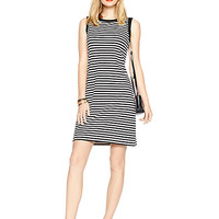 Kate Spade Cameo Back Shift Dress Black/Cream