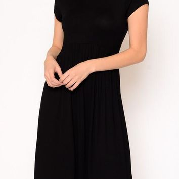 Day After Day Dress - Black