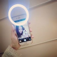 Luxury LED Light Up Selfie Luminous Phone Ring For iPhone 6 6S Plus LG Samsung..