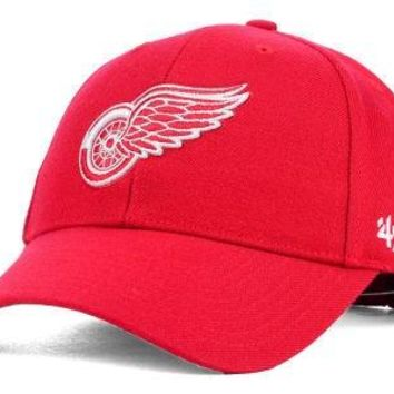 NHL Detroit Red Wings MVP Structured Adjustable Hat