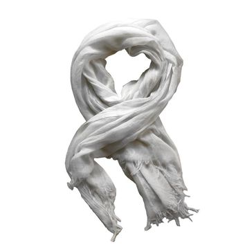 Beau Scarf in White