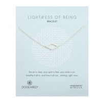 Lightness of Being Air Diamond Soldered Bracelet, Sterling Silver | Dogeared
