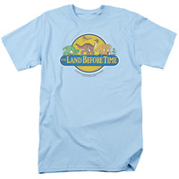 LAND BEFORE TIME/DINO BREAKOUT - S/S ADULT 18/1 - LIGHT BLUE -