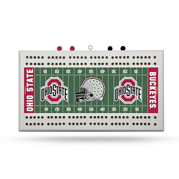 OHIO STATE FIELD CRIBBAGE BOARD