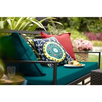 Valencia Sofa with Sunbrella® Harbor Blue Cushion in Best&Buys Furniture | Crate and Barrel