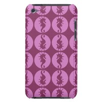 Pink Seahorses Case-Mate iPod Touch Case
