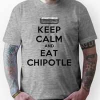 Keep Calm and Eat Chipotle (Burrito) Unisex T-Shirt