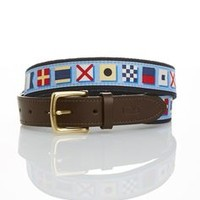 Signal Flags Canvas Club Belt