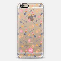 Mad For Makeup Transparent - Watercolor Painted Case by Wonder Forest iPhone 6 case by wonder forest | Casetify