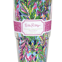 Lilly Pulitzer Insulated Tumbler With Lid- Hot Spot