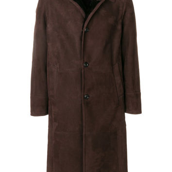 Liska Long Shearling Coat - Farfetch