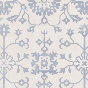 Surya Shibori SHB8009 Neutral/Blue Arts and Crafts Area Rug