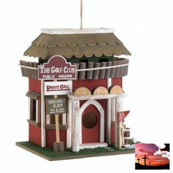 Golf Course Clubhouse Birdhouse (pack of 1 EA)