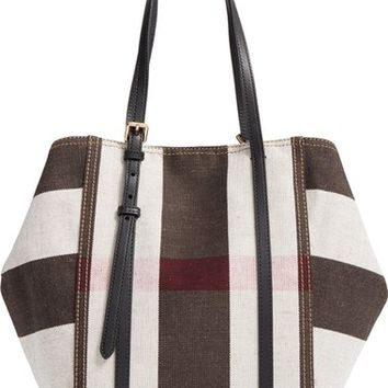 Burberry Medium Padstow Check Tote | Nordstrom