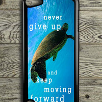 Sea Turtle Quotes iPod 5 Touch Case