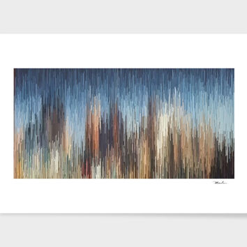 «The City», Numbered Edition Art Print by David Manlove - From $19 - Curioos