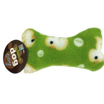 Plush Dog Bone With Rubber Duckie Print Set of 25 Pack