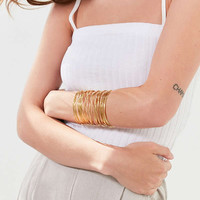 Wire Statement Cuff Bracelet   Urban Outfitters