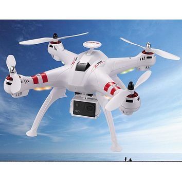 BAYANGTOYS X16 2.4G 4CH 6Axis RC Quadcopter with 4K 1080P Wifi Camera RTF Automatic Return 360 Degree Flip Brushless Motor
