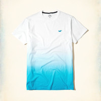 Guys Must-Have Ombré Crew T-Shirt | Guys Tops | HollisterCo.com