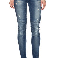 True Religion Halle Biker Skinny in Sante Fe Ave