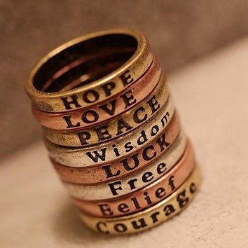 Meaningful Word Ring