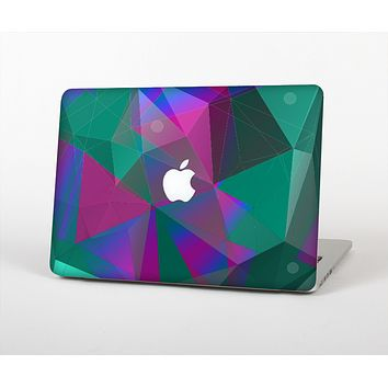 The Raised Colorful Geometric Pattern V6 Skin for the Apple MacBook Pro Retina 13""