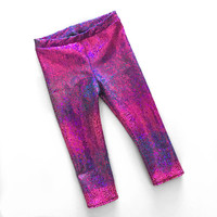 New girls dino leggings- dance tights, baby toddler child kid pants, dance and costume, birthday outfit- dino gal- dinosaur