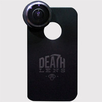 Death Lens Fisheye Iphone 5/5S Lens Black One Size For Men 25264410001
