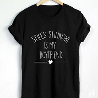 Stiles Stilinski Shirt Stiles Stilinski Is My Boyfriend T Shirt Beacon Hills Teen Wolf Tshirt - RT116