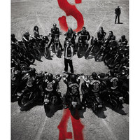 Sons of Anarchy 'Bike Circle' Poster