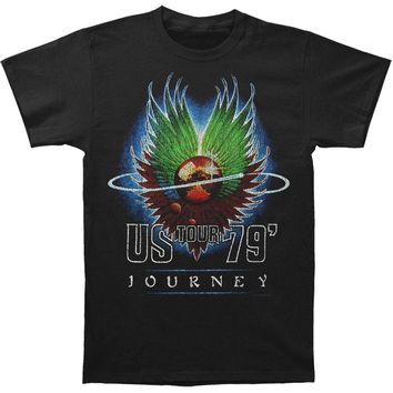 Journey Men's  Us Tour '79 T-shirt Black