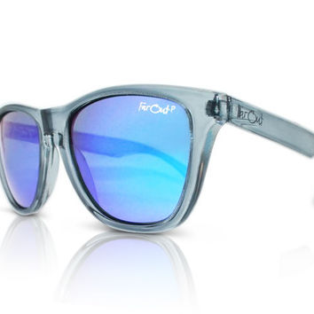 Crystal Grey Polarized Dark Blue Lens