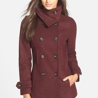 Junior Women's Thread & Supply Double Breasted Peacoat