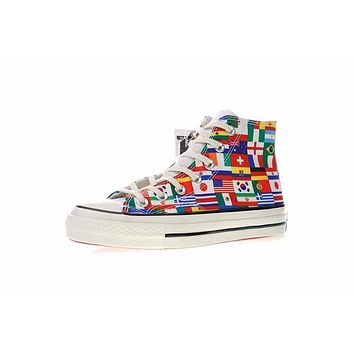 FIFA World Cup£¡Converse chuck taylor all star Classic 1970S ¡°World Cup Flag¡± Sneaker 163689C