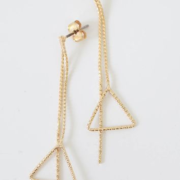 One Step Closer Earrings - Gold