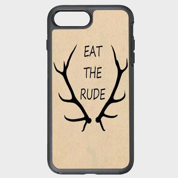 Custom iPhone Case Eat the Rude Hannibal NBC Fannibal