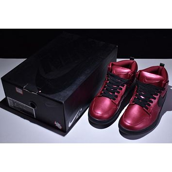 nike air force 1 dunk lux chukka rt wine red