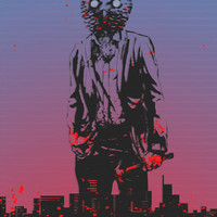 HOTLINE MIAMI Art Print by Bertrand Nadal