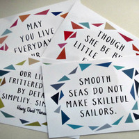 Assorted POSTCARDS- 4 Pack